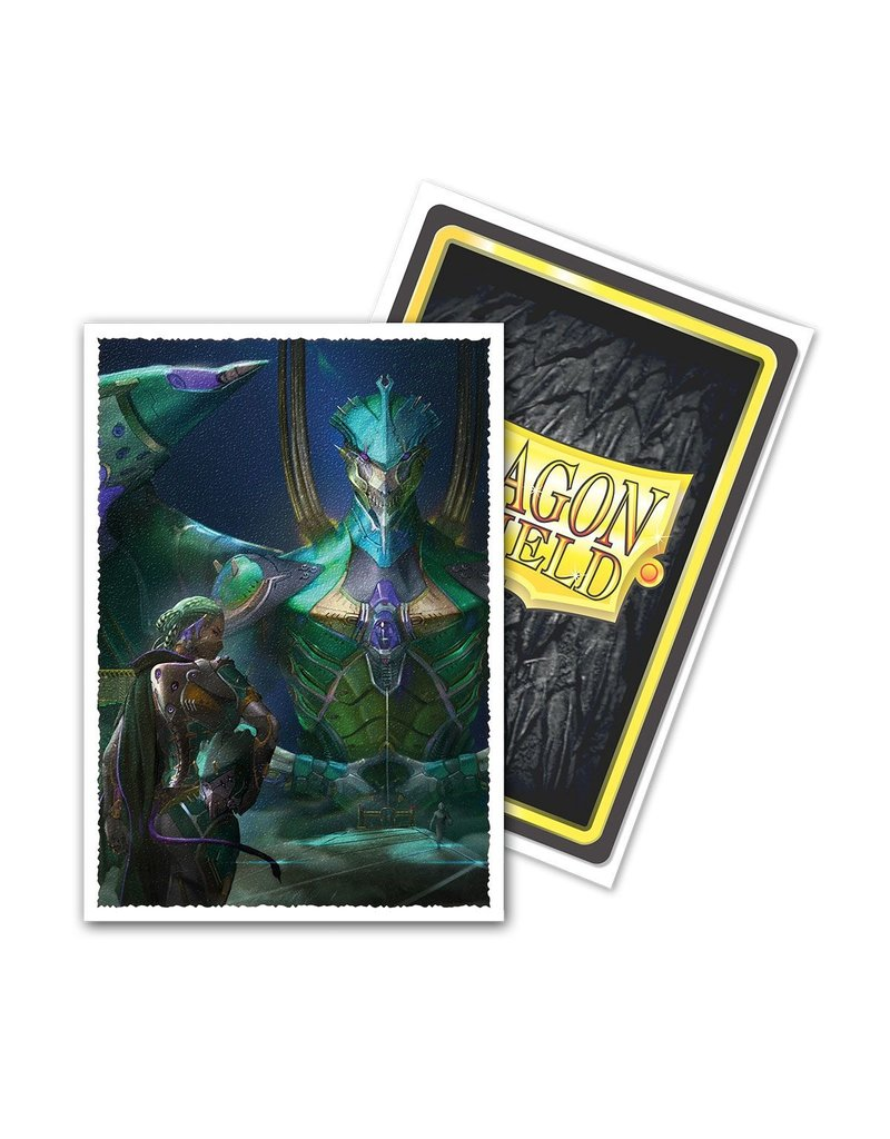 Dragon Shield Dragon Shield Art Small Matte Sleeves - Dynastes (60 Sleeves)