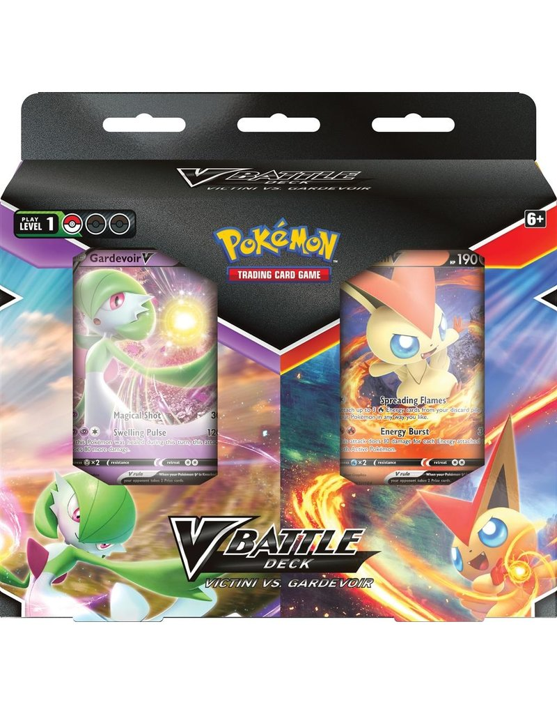 The Pokémon Company Victini / Gardevoir V Battle Deck Bundle Pokemon