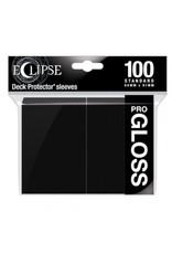 Ultra Pro Eclipse Standard Gloss Sleeves - Jet Black Ultra Pro