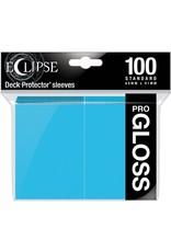 Ultra Pro Eclipse Standard Gloss Sleeves Sky Blue Ultra Pro