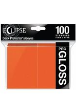 Ultra Pro Eclipse Standard Gloss Sleeves Pumpkin Orange Ultra Pro