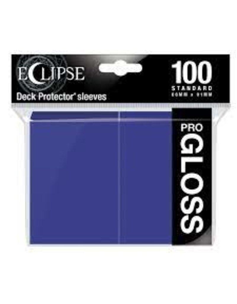 Ultra Pro Eclipse Standard Gloss Sleeves - Royal Purple Ultra Pro