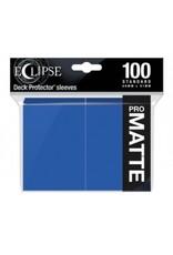 Ultra Pro Eclipse Standard Matte Sleeves Pacific Blue Ultra Pro