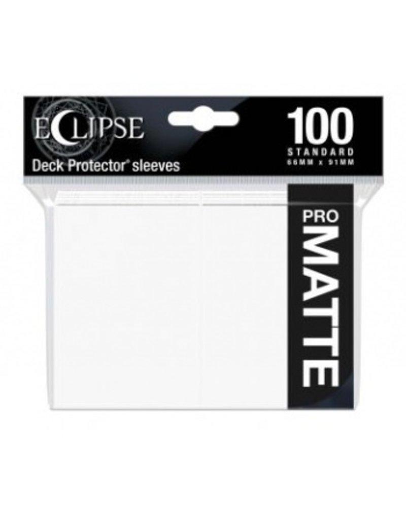 Ultra Pro Eclipse Standard Matte Sleeves Arctic White Ultra Pro