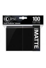 Ultra Pro Eclipse Standard Matte Sleeves Jet Black Ultra Pro