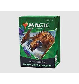 Magic The Gathering Mono Green Stompy Challenger Deck 2021 MTG