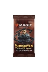 Magic The Gathering Strixhaven: School of Mages Draft Booster MTG
