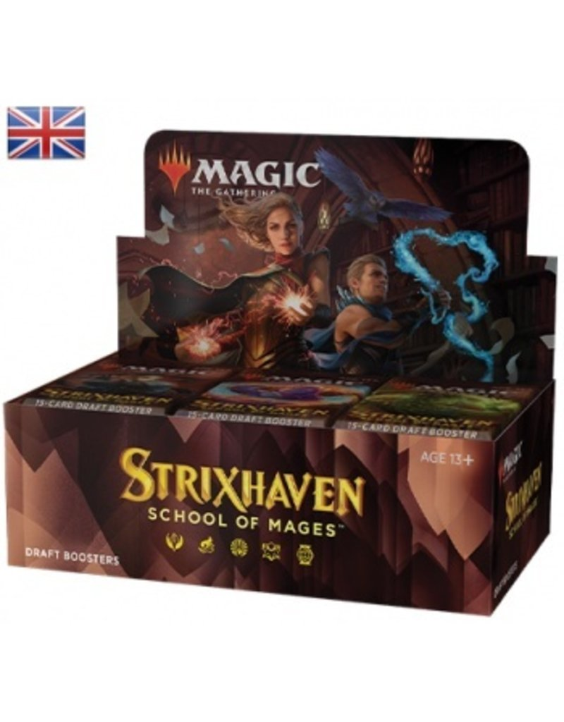 Magic The Gathering Strixhaven School of Mages Draft Booster Box MTG