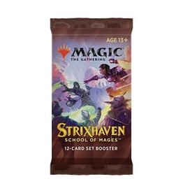Magic The Gathering Strixhaven: School of Mages Set Booster Pack MTG