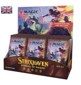 Magic The Gathering Strixhaven: School of Mages Set Booster Box MTG
