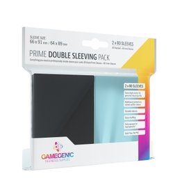 Gamegenic PRIME Double Sleeving Pack (2x80 Sleeves) Gamegenic