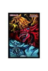 Yu-Gi-Oh! Yu-Gi-Oh! Slifer, Obelisk, & Ra - Card Sleeves (50 Sleeves)