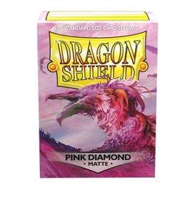 Dragon Shield Dragon Shield Standard Matte Sleeves Pink Diamond