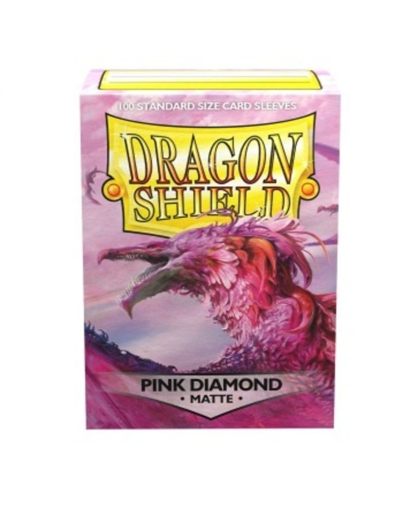 Dragon Shield Dragon Shield Standard Matte Sleeves Pink Diamond