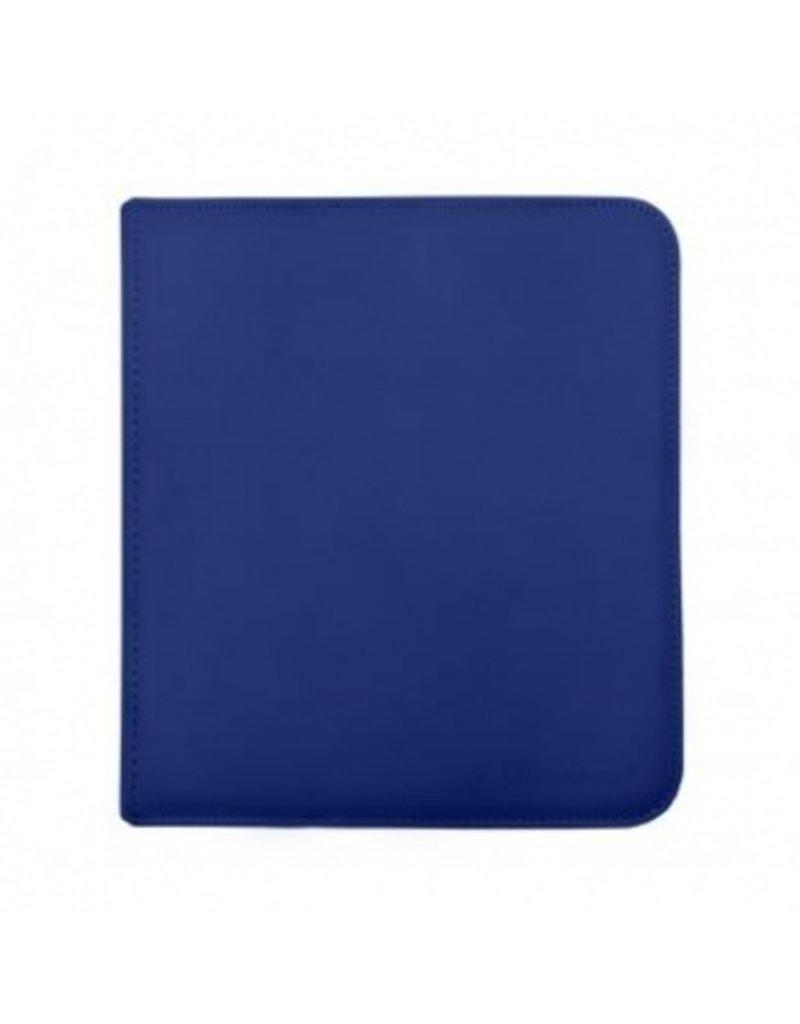 Ultra Pro 12-Pocket Zippered Pro-Binder - Blue - Ultra Pro