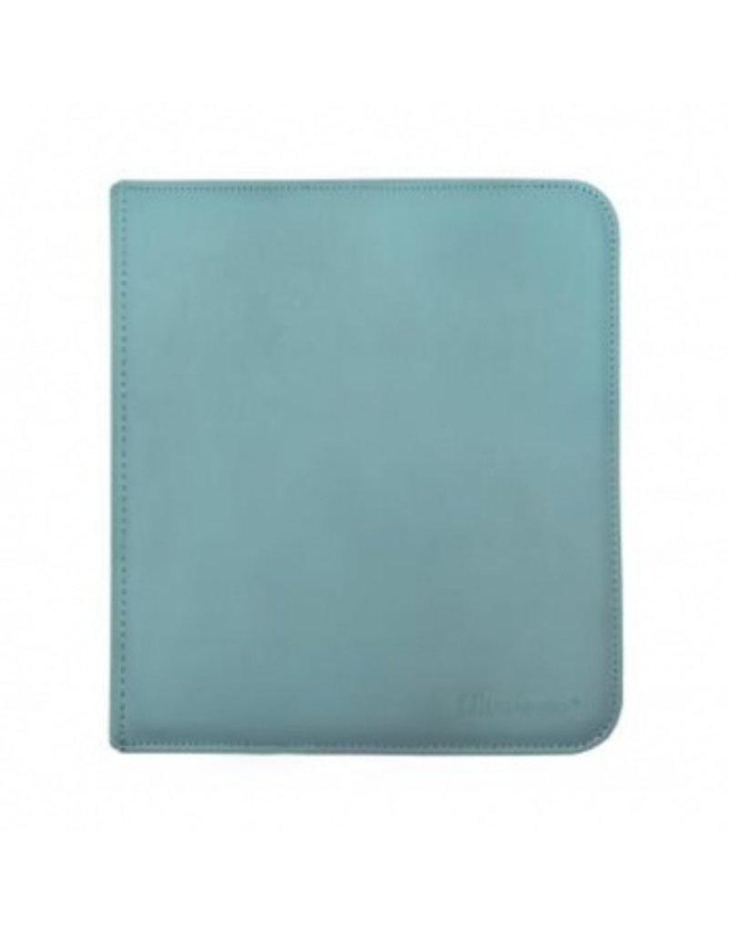 Ultra Pro 12-Pocket Zippered Pro-Binder - Light Blue - Ultra Pro