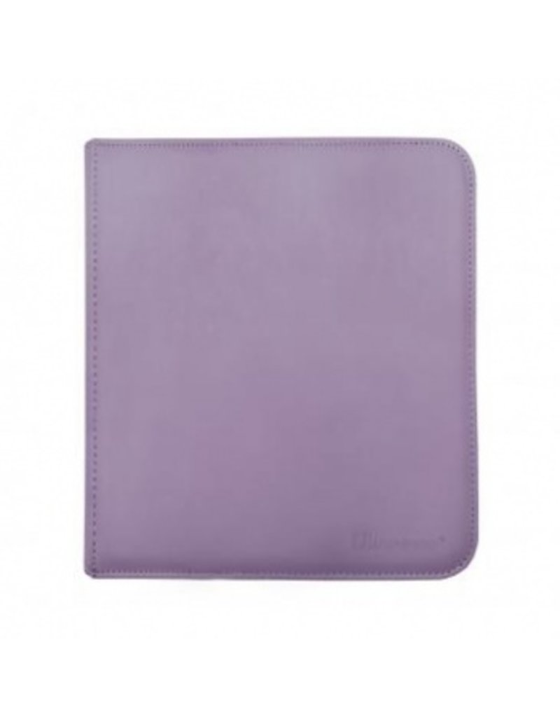 Ultra Pro 12-Pocket Zippered Pro-Binder - Purple - Ultra Pro