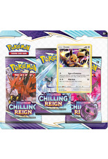 The Pokémon Company Pokemon Sword & Shield Chilling Reign 3-boosterblister Eevee