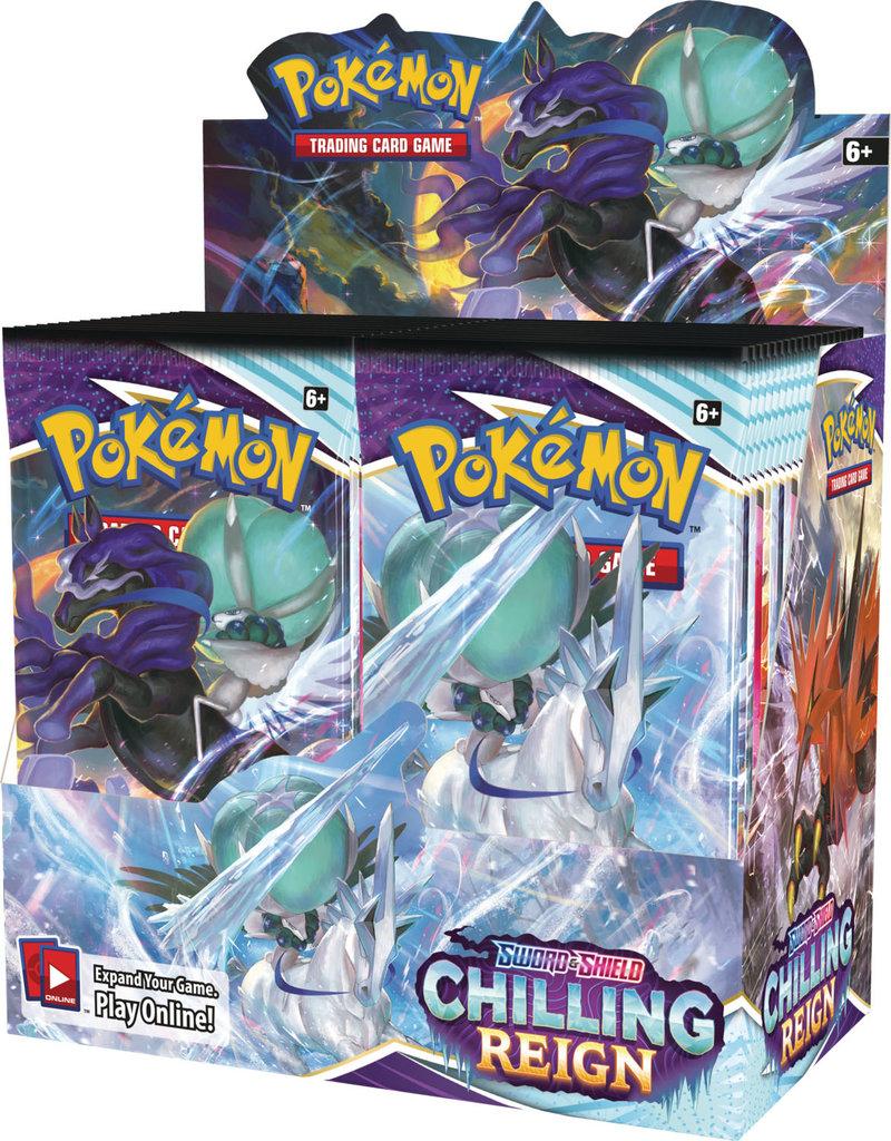 The Pokémon Company Pre-Order Wave 2: Pokemon Sword & Shield Chilling Reign Booster Box