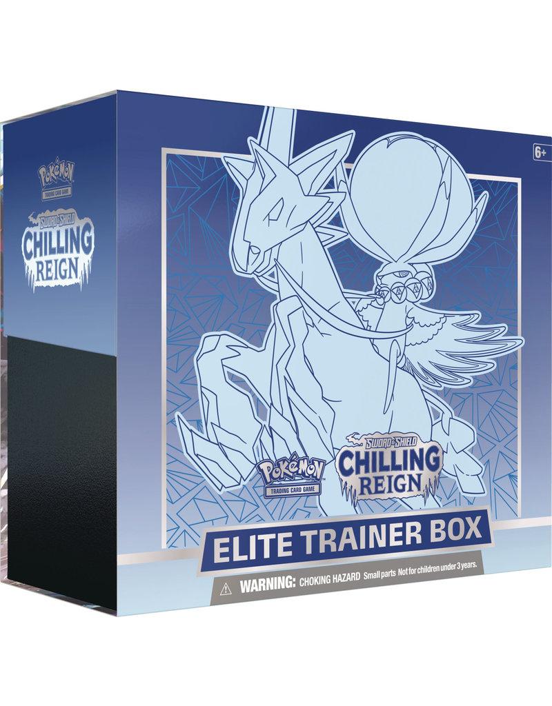 The Pokémon Company Pokemon Sword & Shield Chilling Reign Elite Trainer Box Glastrier