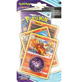 The Pokémon Company Pokemon Sword & Shield Chilling Reign Premium Checklane Blister Blaziken