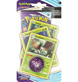 The Pokémon Company Pokemon Sword & Shield Chilling Reign Premium Checklane Blister Decidueye