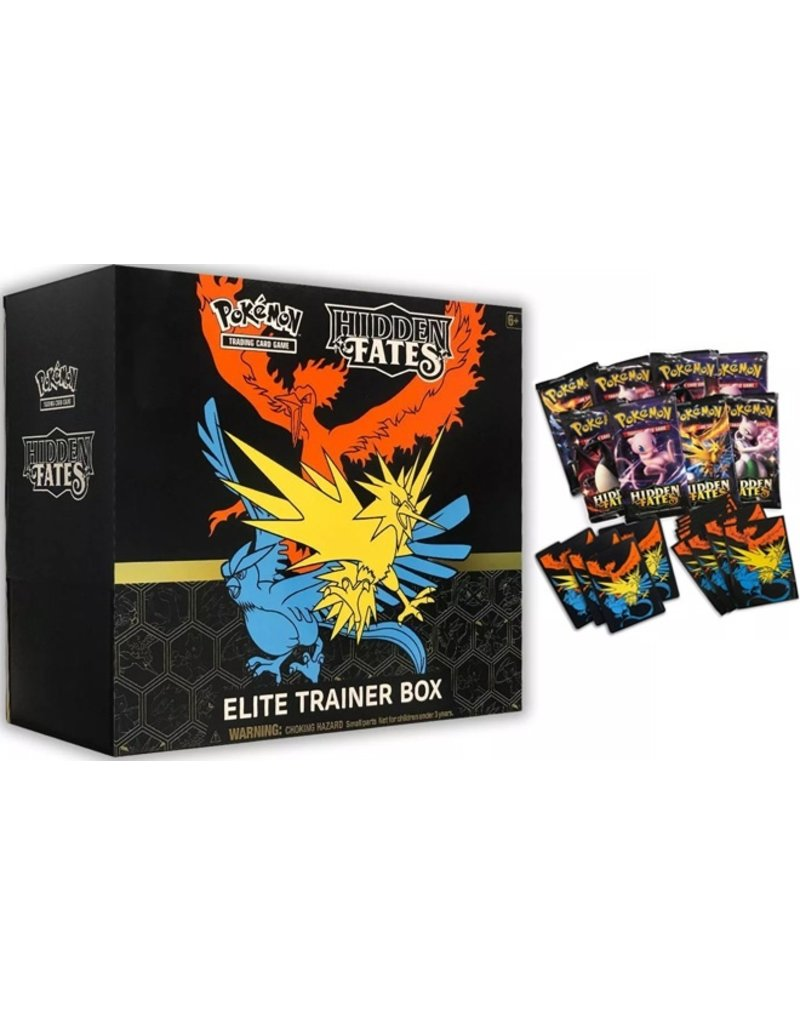 The Pokémon Company Pokemon Hidden Fates Elite Trainer Box (Reprint)