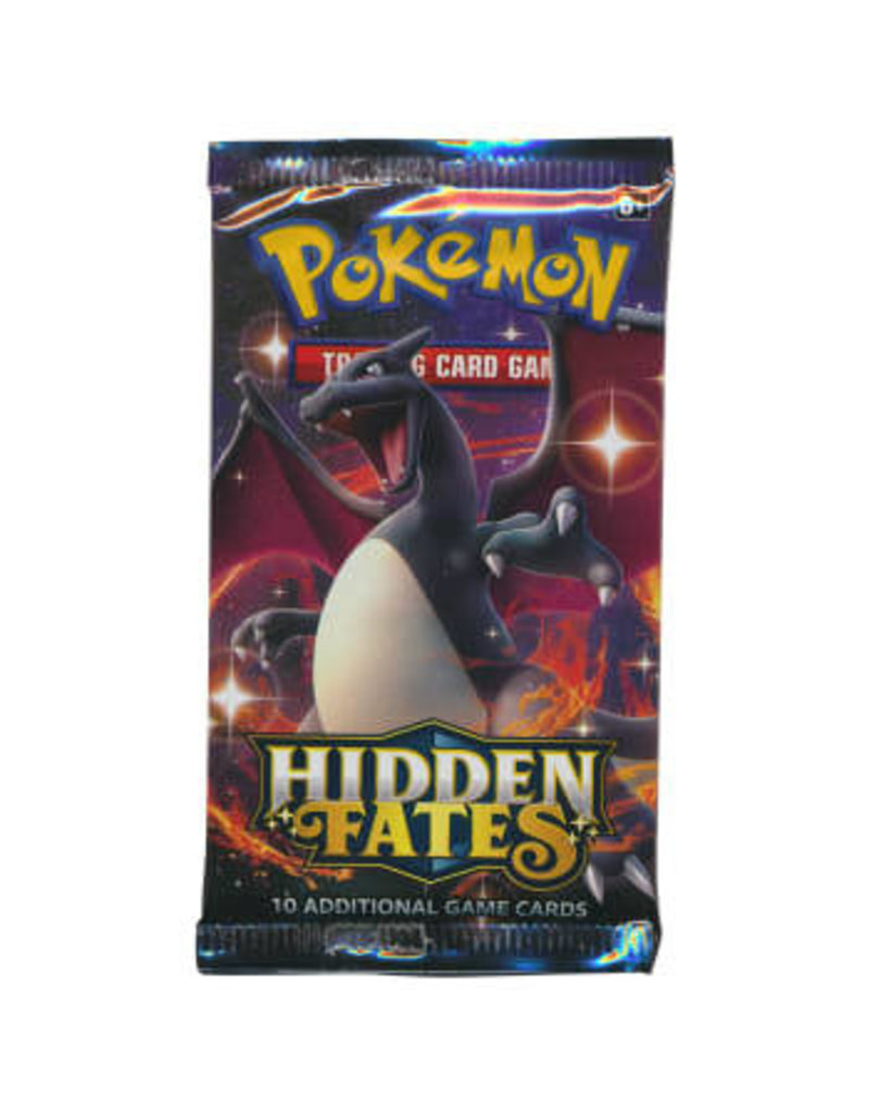 The Pokémon Company Hidden Fates Booster Pack Pokemon