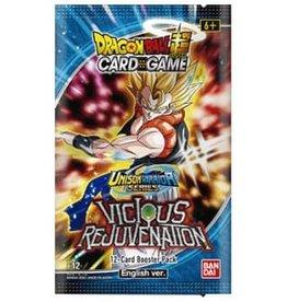 Dragon Ball Super Card Game Dragon Ball SCG S12 Unison Warrior Set 3 Vicious Rejuvenation  Booster Pack