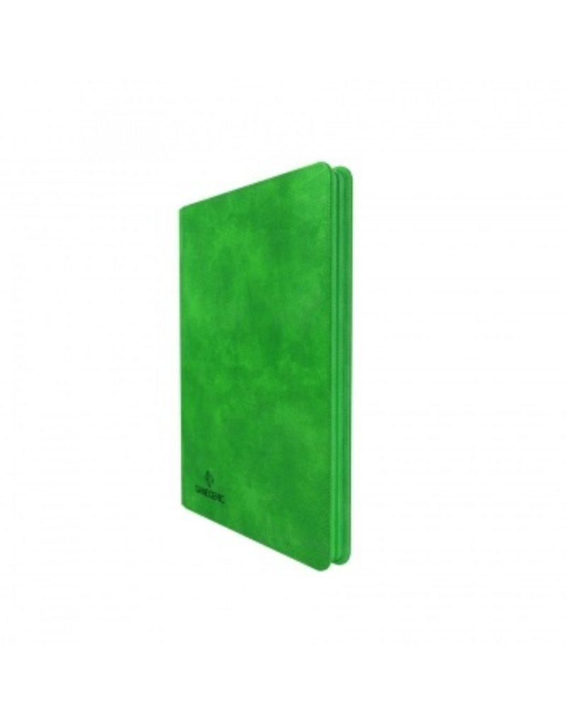 Gamegenic Zip-Up Album 18-Pocket Green Gamegenic