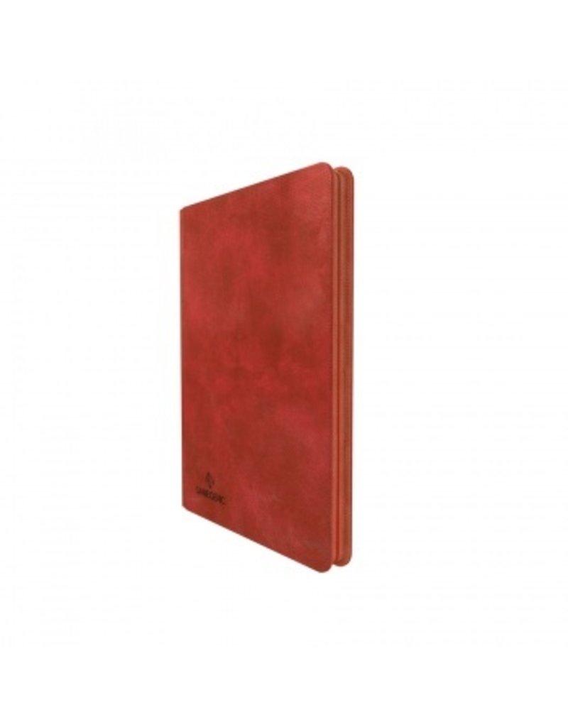 Gamegenic Zip-Up Album 18-Pocket Red Gamegenic