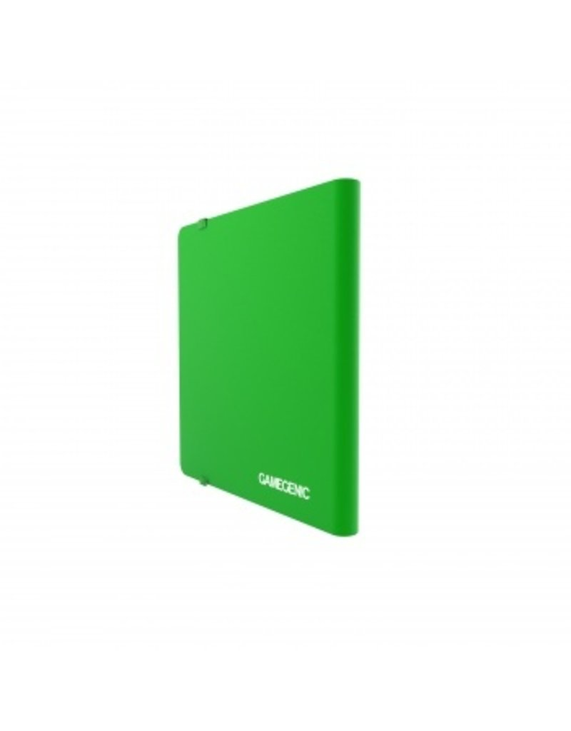 Gamegenic Casual Album 24-Pocket Green Gamegenic