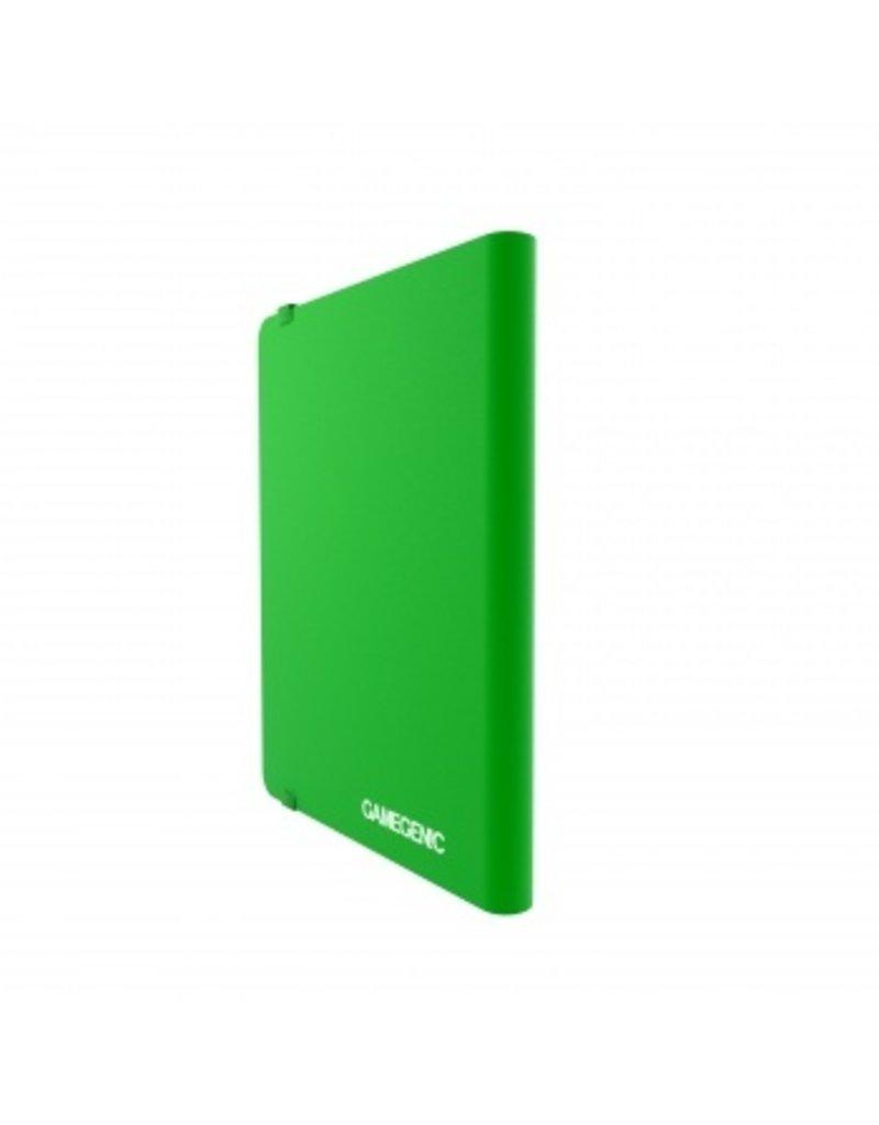 Gamegenic Casual Album 18-Pocket Green Gamegenic