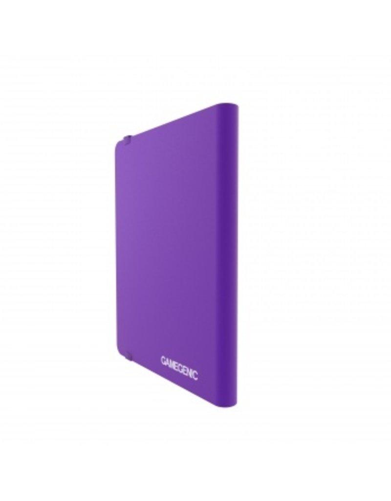 Gamegenic Casual Album 18-Pocket Purple Gamegenic