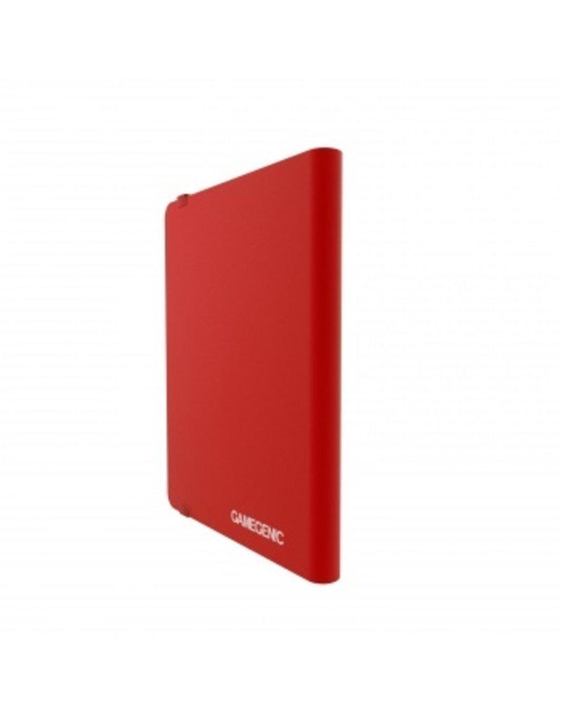 Gamegenic Casual Album 18-Pocket Red Gamegenic