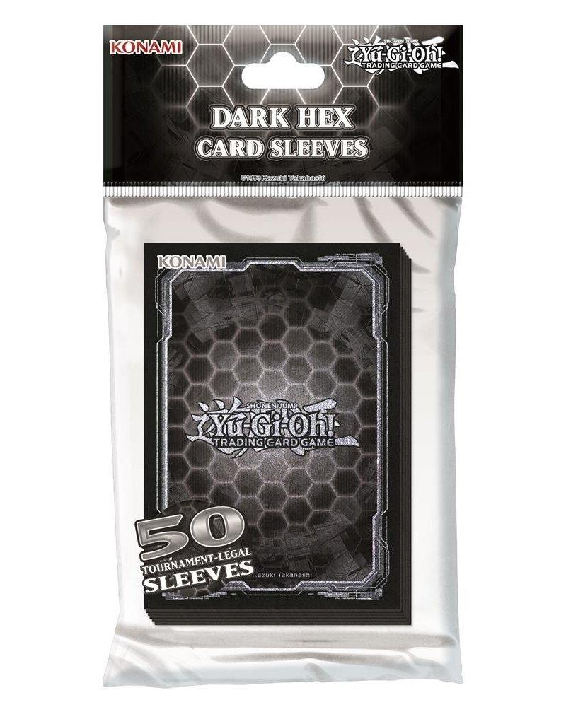 Yu-Gi-Oh! Yu-Gi-Oh! Dark Hex Sleeves (50 Sleeves)
