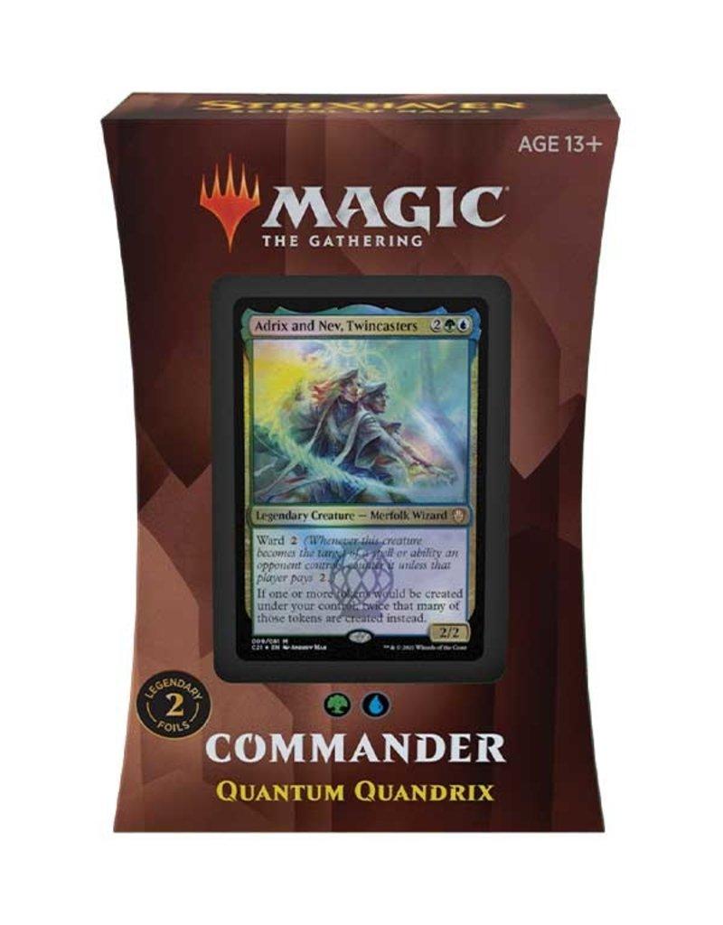 Magic The Gathering Commander Strixhaven: Quantum Quandrix Deck MTG
