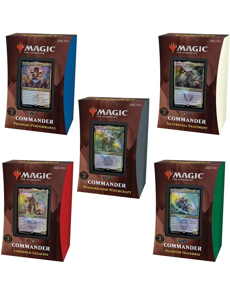 Magic The Gathering Commander: Strixhaven Deck Set MTG