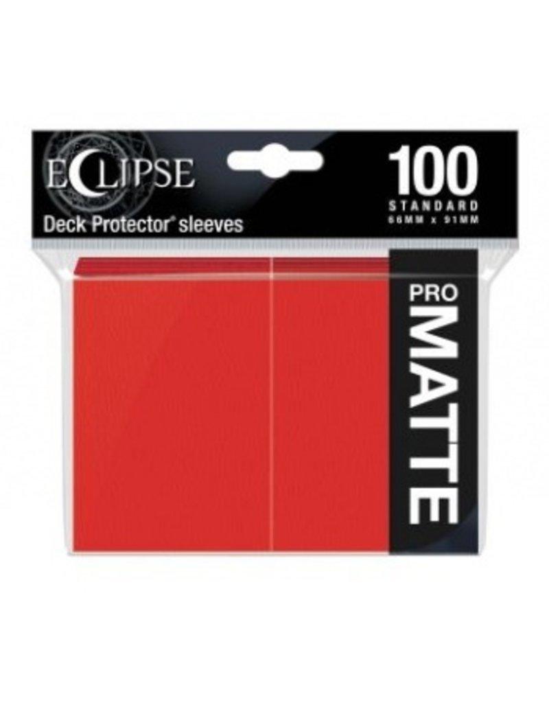 Ultra Pro Eclipse Standard Matte Sleeves - Apple Red Ultra Pro