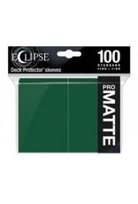 Ultra Pro Eclipse Standard Matte Sleeves Forest Green Ultra Pro