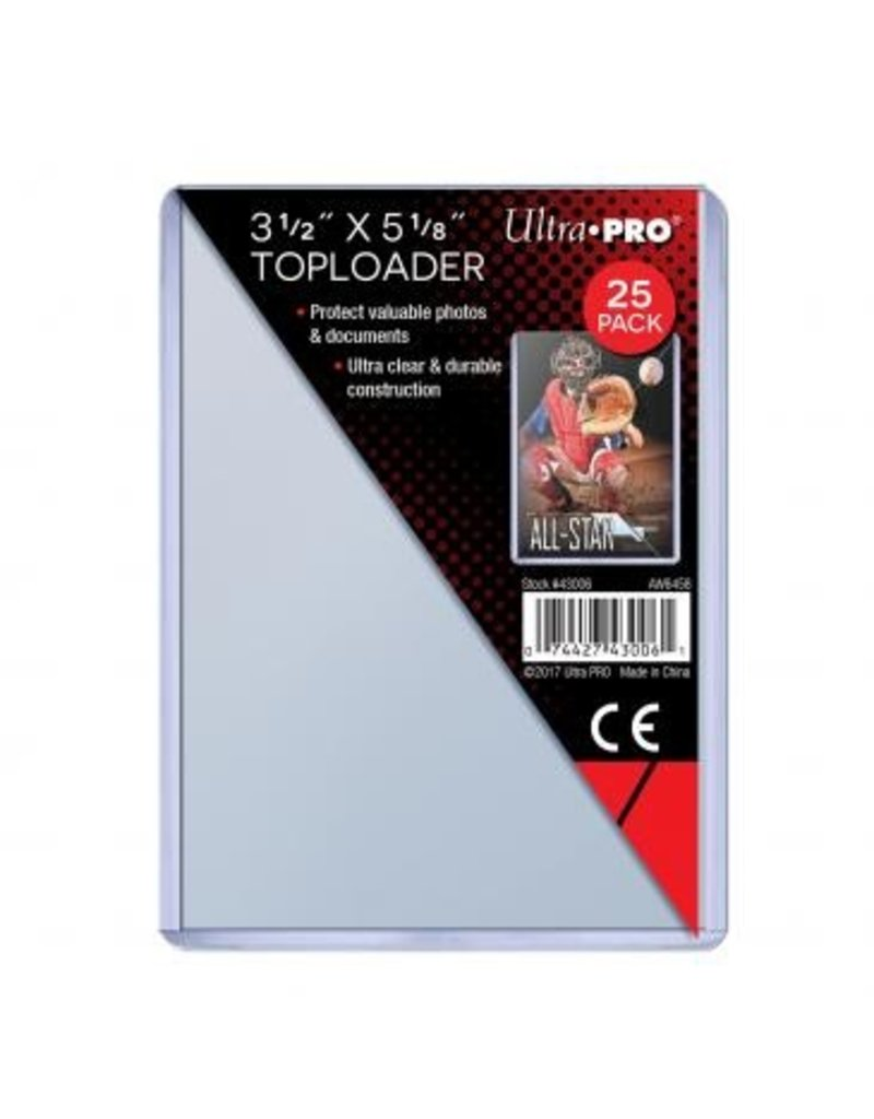 Ultra Pro Oversized Toploader (1x) Ultra Pro (Oversized Commander Cards)