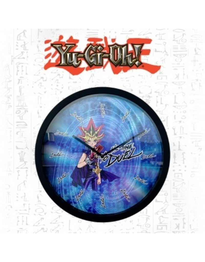 Yu-Gi-Oh! Yu-Gi-Oh! Its time to Duel Clock