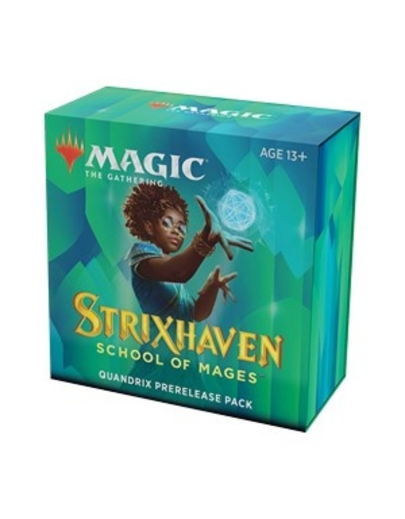 Magic The Gathering Strixhaven School of Mages: Quandrix Prerelease Pack MTG