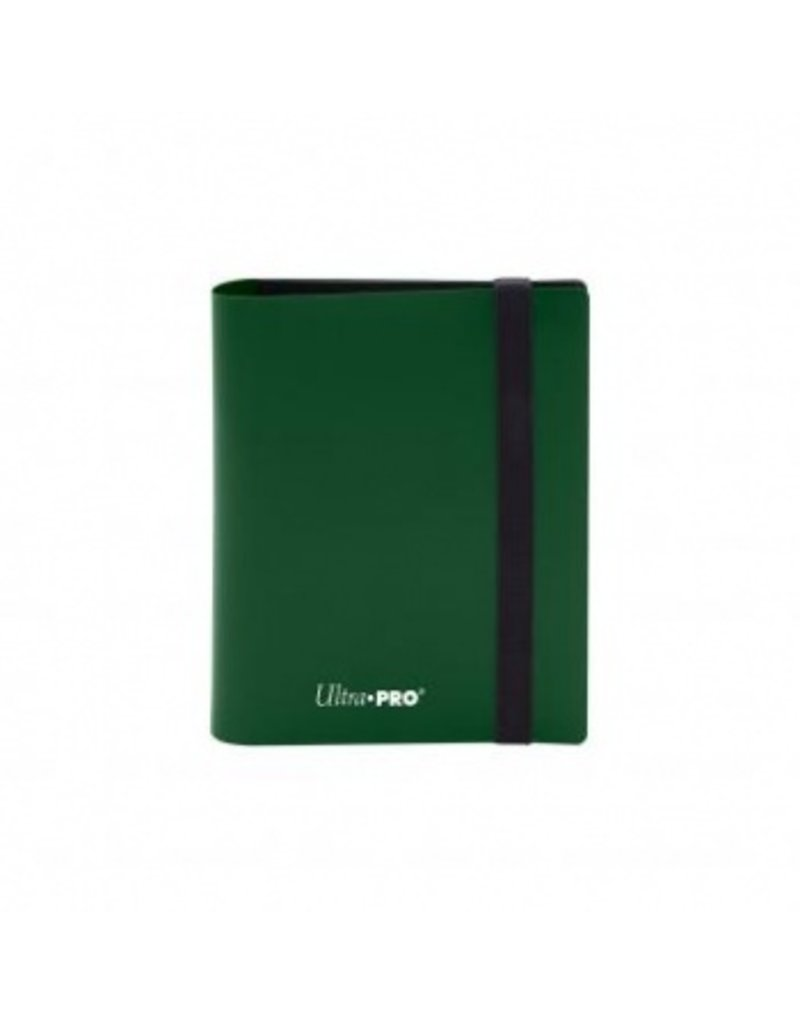 Ultra Pro 2-Pocket Pro Binder Eclipse Forest Green Ultra Pro