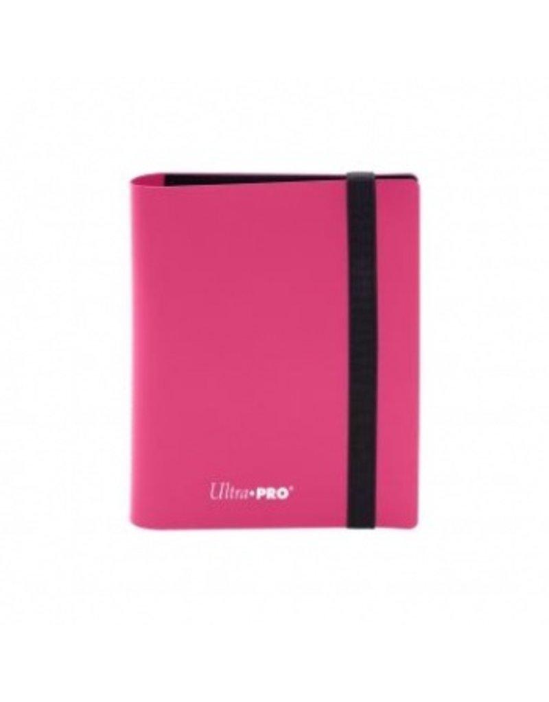 Ultra Pro 2-Pocket Pro Binder Eclipse Hot Pink Ultra Pro