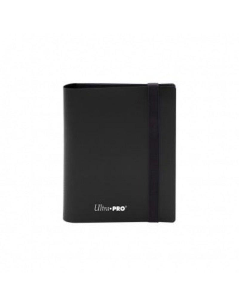 Ultra Pro 2-Pocket Pro Binder Eclipse Jet Black Ultra Pro