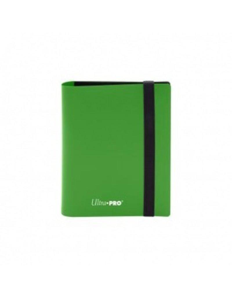 Ultra Pro 2-Pocket Pro Binder Eclipse Lime Green Ultra Pro