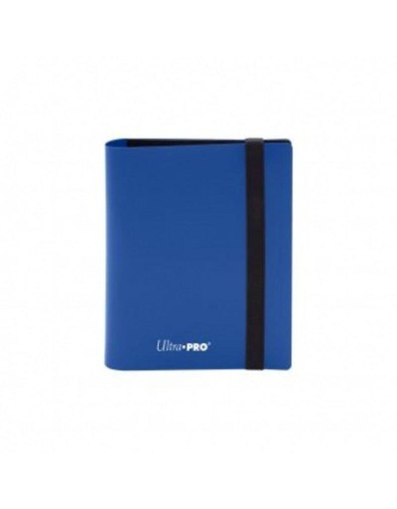 Ultra Pro 2-Pocket Pro Binder Eclipse Pacific Blue Ultra Pro