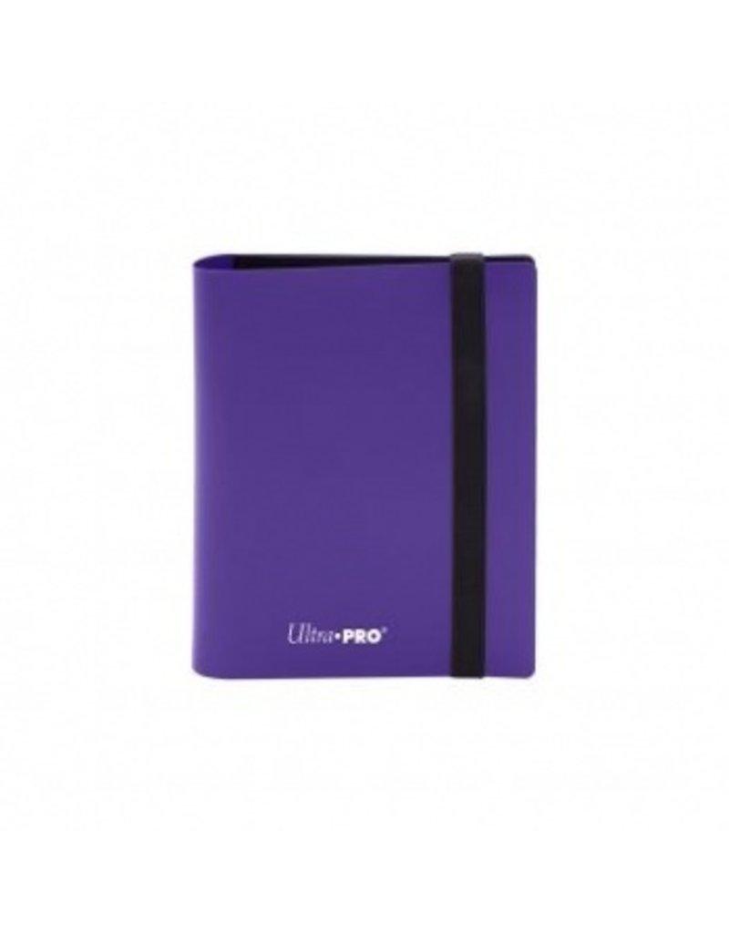 Ultra Pro 2-Pocket Pro Binder Eclipse Royal Purple Ultra Pro