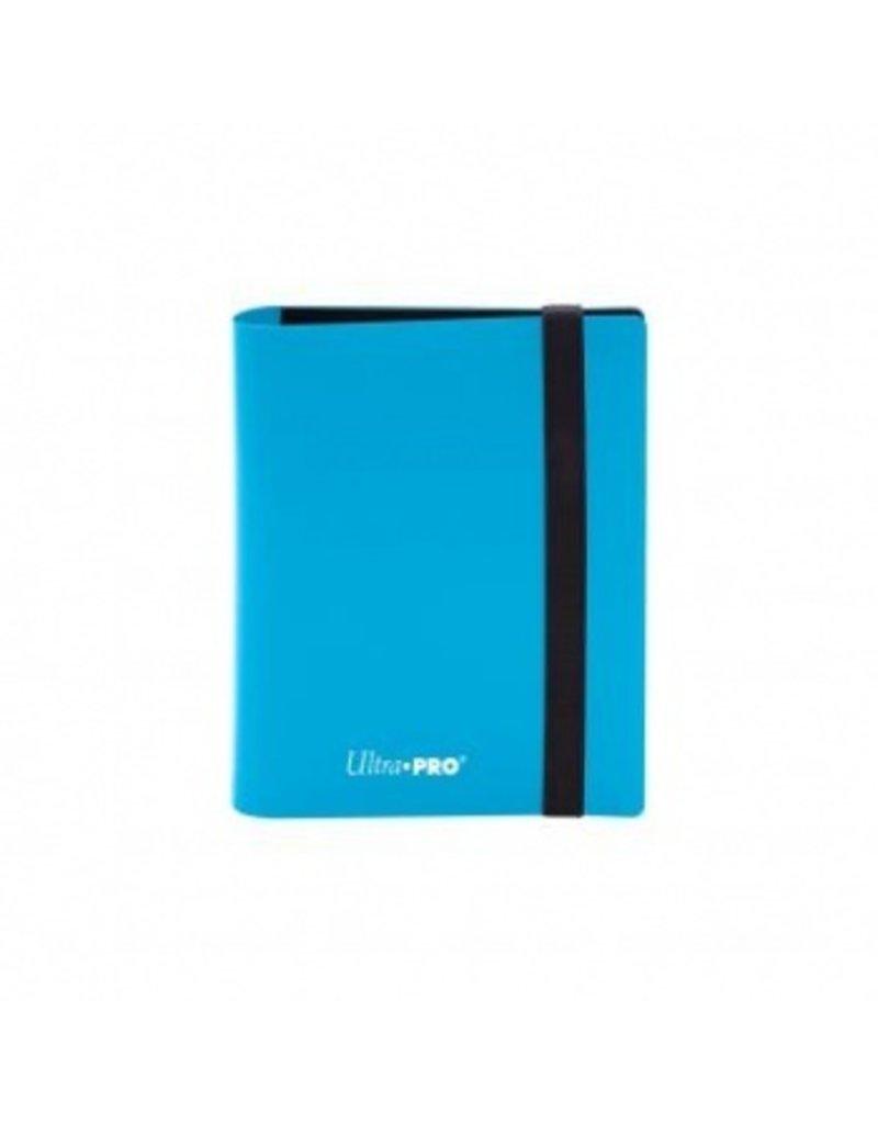 Ultra Pro 2-Pocket Pro Binder Eclipse Sky Blue Ultra Pro